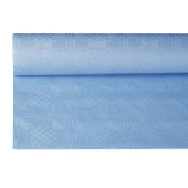 Tafelkleed Damast Papier licht Blauw