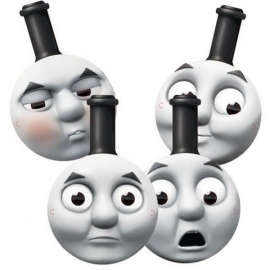 Thomas & friends feestmasker