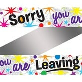 Banner Sorry you Leaving