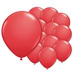 5 inch (12cm) ballonnen rood