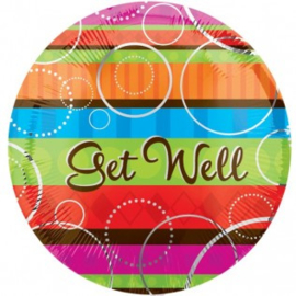 Get Well Colourfull Foil
