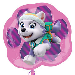 Pink Patrol Chase Supershape Folie Ballon