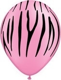 Zebra Stripes 100ct - Neon Pink