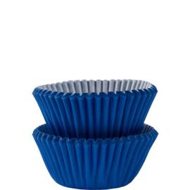 Blauwe Cupcake Cases