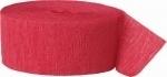 Crepe Streamer Rood