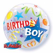 Birthday Boy Bubble Ballon