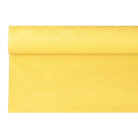 Tafelkleed Damast Papier Geel