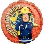 Brandweerman Sam Folie Ballon
