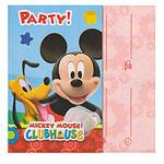 Mickey Mouse Uitnodigingskaarten