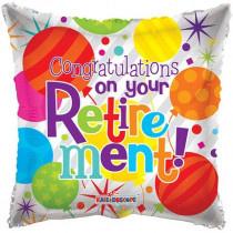 Congratulations On Your Retirement Folie Ballon
