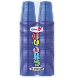 Plastic Bekers Donker Blauw