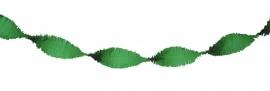 Crepeslinger donker groen