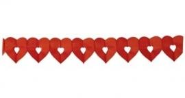 Slinger hart open rood