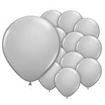 5 inch  ballonnen grijs