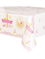 Pink & Gold  1st Birthday Tafelkleed