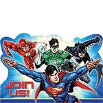 Justice League Uitnodingingskaarten