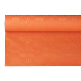 Tafelkleed Damast Papier Oranje
