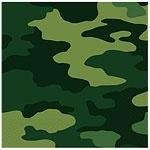 Camouflage Lunch Servetten