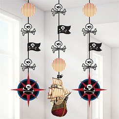 Pirates Hanging Decorations