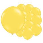 5 inch (12cm) ballonnen geel