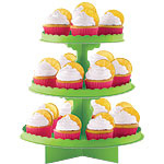 Lime Green Cup Cake Stands
