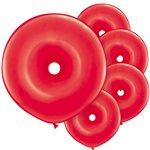 GEO Donut Ballonnen Red