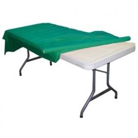 Plastic tafelkleed op rol groen