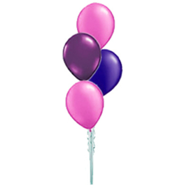 4 Ballonnenboeket