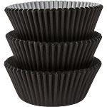 Zwarte Cupcake Cases