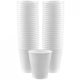 Amerikaanse Cups XL Wit
