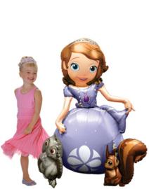 Princess Sofia Airwalker Folie Ballon