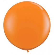 Step In balloon oranje