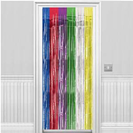 Deurgordijn Multi Colour