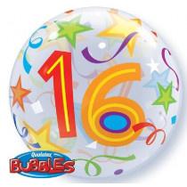 16th Brillant Star Bubble Ballon