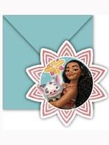 Disney Moana Uitnodigingskaarten