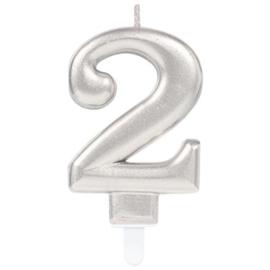 Cijferkaars Zilver nr. 2
