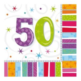 Servetten 50 jaar