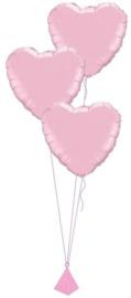 3 Ballonnenboeket van folie ballonnen