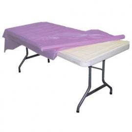 Plastic tafelkleed op rol lavendel