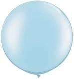 3ft (90cm) ballon pearl light blue