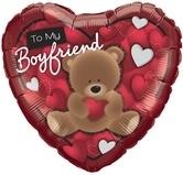 To My Boyfriend Bear Foil