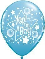 Ballon Yep i´m a Boy
