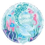 Magical Mermaid Folie Ballon