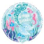 Magical Mermaid Folie Ballon