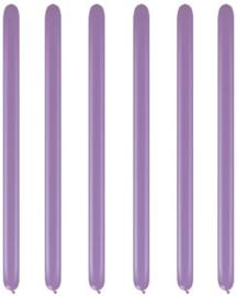 Modelleerballonnen spring lilac