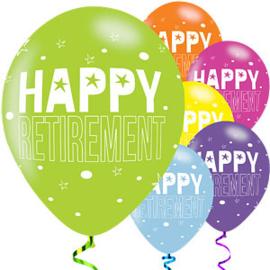 Ballonnen Happy Retirement