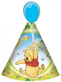 Winnie de poeh en piglet hoedjes
