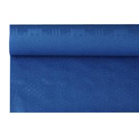 Tafelkleed Damast Papier Donker Blauw
