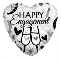 Happy Engagement Folie Ballon