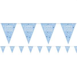 Blue Birthday Glitz HB Vlaggenlijn
